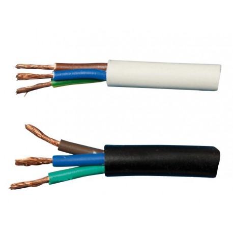 Kabel CYSY 3x0,75mm2 bílý